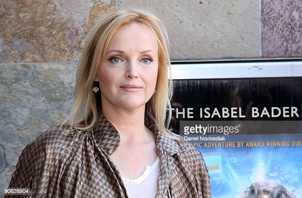 Actress Miranda Richardson attends the 'Turtle The Incredible Journey' Premiere held at Isabel Bader Theatre during the 2009 Toronto International...