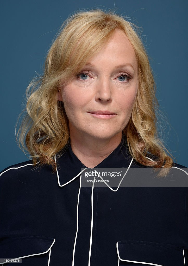 Actress <a gi-track='captionPersonalityLinkClicked' href=/galleries/search?phrase=Miranda+Richardson&family=editorial&specificpeople=203223 ng-click='$event.stopPropagation()'>Miranda Richardson</a> of 'Belle' poses at the Guess Portrait Studio during 2013 Toronto International Film Festival on September 9, 2013 in Toronto, Canada.