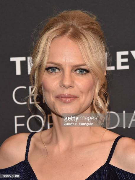 Actress Mircea Monroe attends the 2017 PaleyLive LA Summer Season Premiere Screening And Conversation For Showtime's 'Episodes' at The Paley Center...