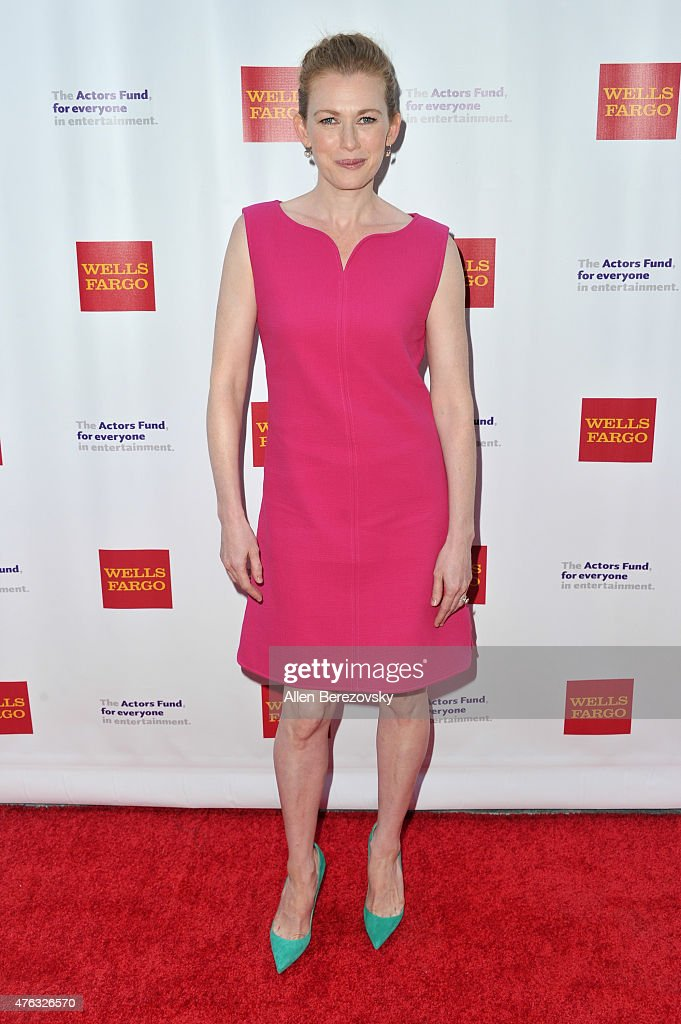 Actress Mireille Enos attends The Actors Fund's 19th Annual Tony Awards viewing party at Skirball Cultural Center on June 7 2015 in Los Angeles...