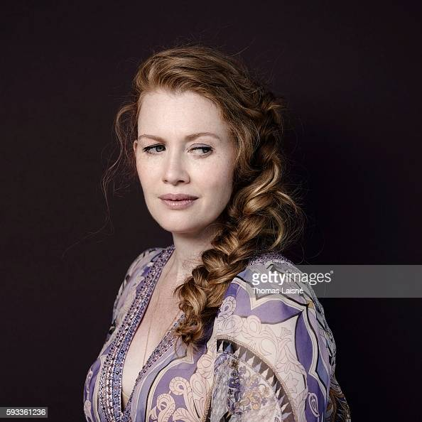 Actress Mireille Enos is photographed for Self Assignment on May 17 2014 in Cannes France