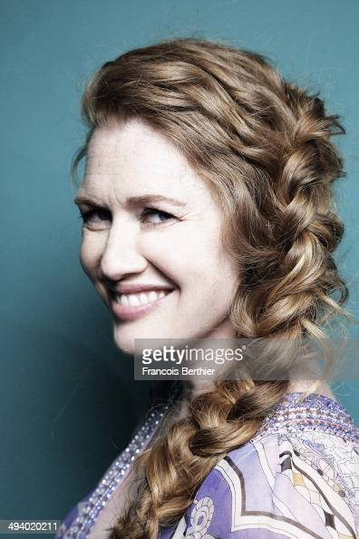 Actress Mireille Enos is photographed for Self Assignment on May 20 2014 in Cannes France