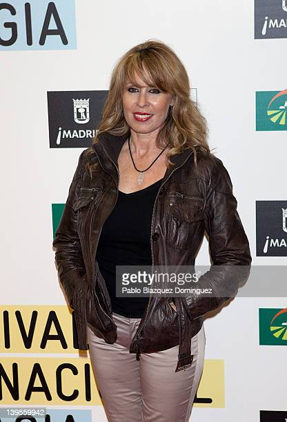 Actress Miriam Diaz Aroca attends the International Magicians Festival at Circo Price Theatre on February 22 2012 in Madrid Spain