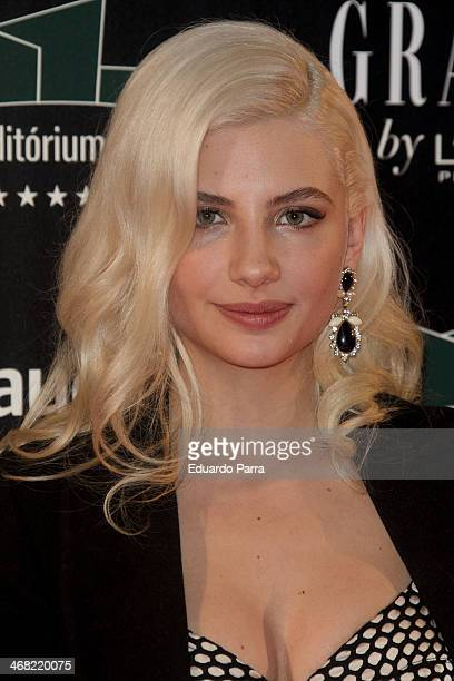 Actress Miriam Giovanelli attends Goya Cinema Awards 2014 after party at Centro de Congresos Principe Felipe on February 9 2014 in Madrid Spain