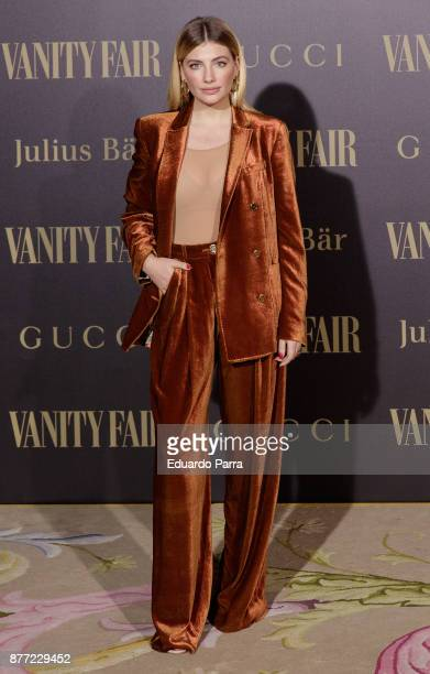 Actress Miriam Giovanelli attends the 'Vanity Fair Personality of the year' photocall at Ritz hotel on November 21 2017 in Madrid Spain