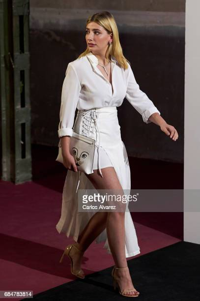 Actress Miriam Giovanelli attends the 'Vogue Who's On Next' party at the El Principito Club on May 18 2017 in Madrid Spain