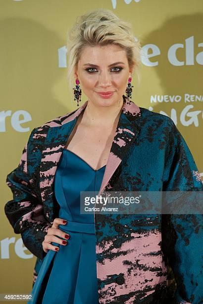 Actress Miriam Giovanelli attends the XII Marie Claire Prix de la Moda Awards at the Callao cinema on November 19 2014 in Madrid Spain