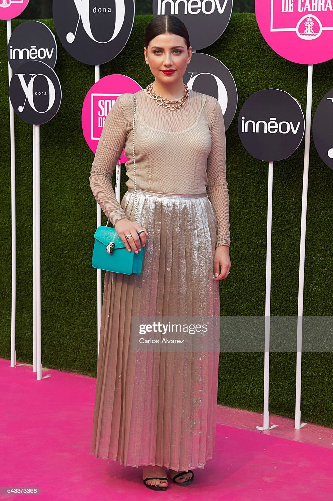Actress <a gi-track='captionPersonalityLinkClicked' href=/galleries/search?phrase=Miriam+Giovanelli&family=editorial&specificpeople=5683721 ng-click='$event.stopPropagation()'>Miriam Giovanelli</a> attends 'Yo Dona' International awards on June 27, 2016 in Madrid, Spain.