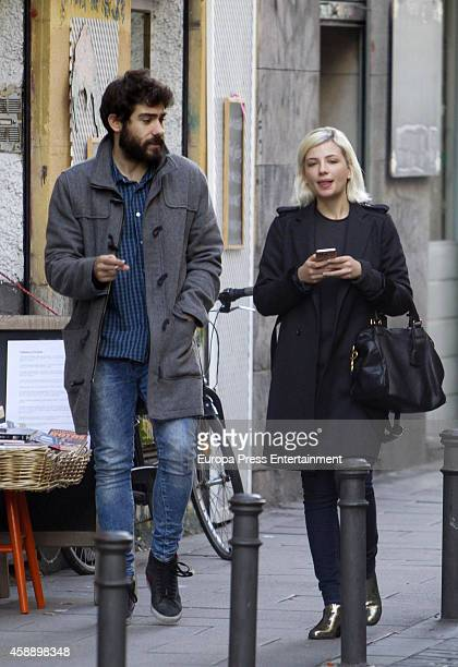 Actress Miriam Giovanelli is seen on November 12 2014 in Madrid Spain