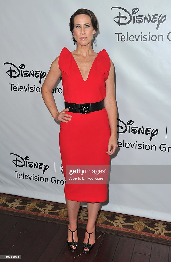 Actress Miriam Shor arrives to the Disney ABC Television Group's 'TCA Winter Press Tour' on January 10, 2012 in Pasadena, California.