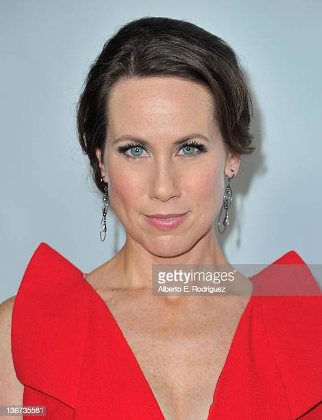 Actress Miriam Shor arrives to the Disney ABC Television Group's 'TCA Winter Press Tour' on January 10 2012 in Pasadena California