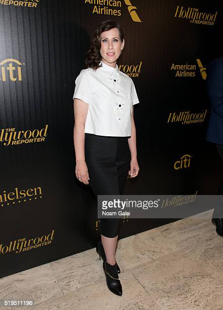 Actress Miriam Shor attends The Hollywood Reporter's 2016 35 Most Powerful People in Media at Four Seasons Restaurant on April 6 2016 in New York City