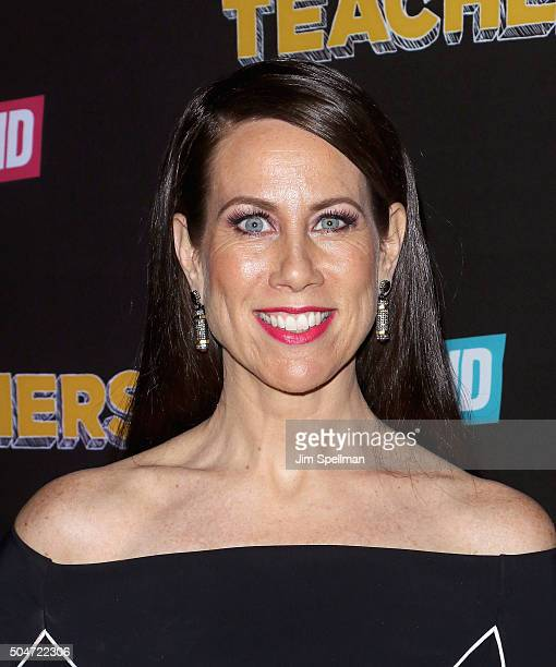 Actress Miriam Shor attends the 'Younger' season 2 and 'Teachers' series premiere at The NoMad Hotel on January 12 2016 in New York City