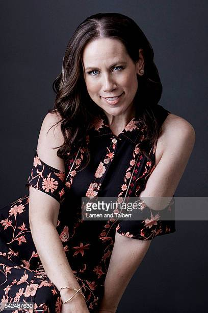 Actress Miriam Shor is photographed for Entertainment Weekly Magazine at the ATX Television Fesitval on June 10 2016 in Austin Texas