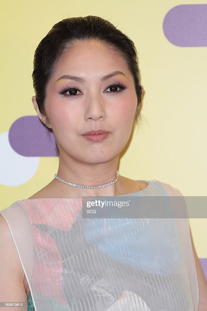 Actress Miriam Yeung arrives at the 37th Hong Kong International Film Festival Grand Opening at Hong Kong Convention and Exhibition Center on March 17, 2013 in Hong Kong, Hong Kong.