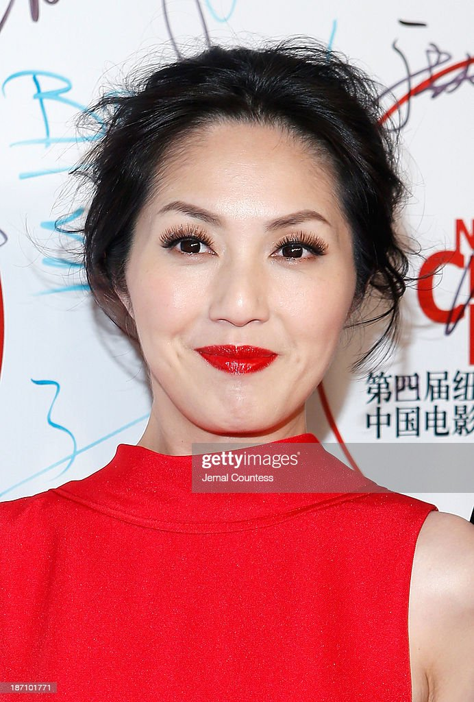 Actress Miriam Yeung attends the 4th New York Chinese Film Festival Opening Night at Alice Tully Hall at Lincoln Center on November 5, 2013 in New York City.