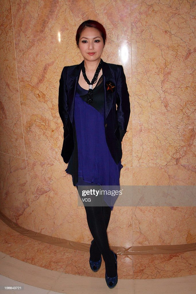 Actress Miriam Yeung attends the Cosmopolitan Best of The Best Awards ceremony at Four Seasons Hotel on November 22, 2012 in Hong Kong, Hong Kong.