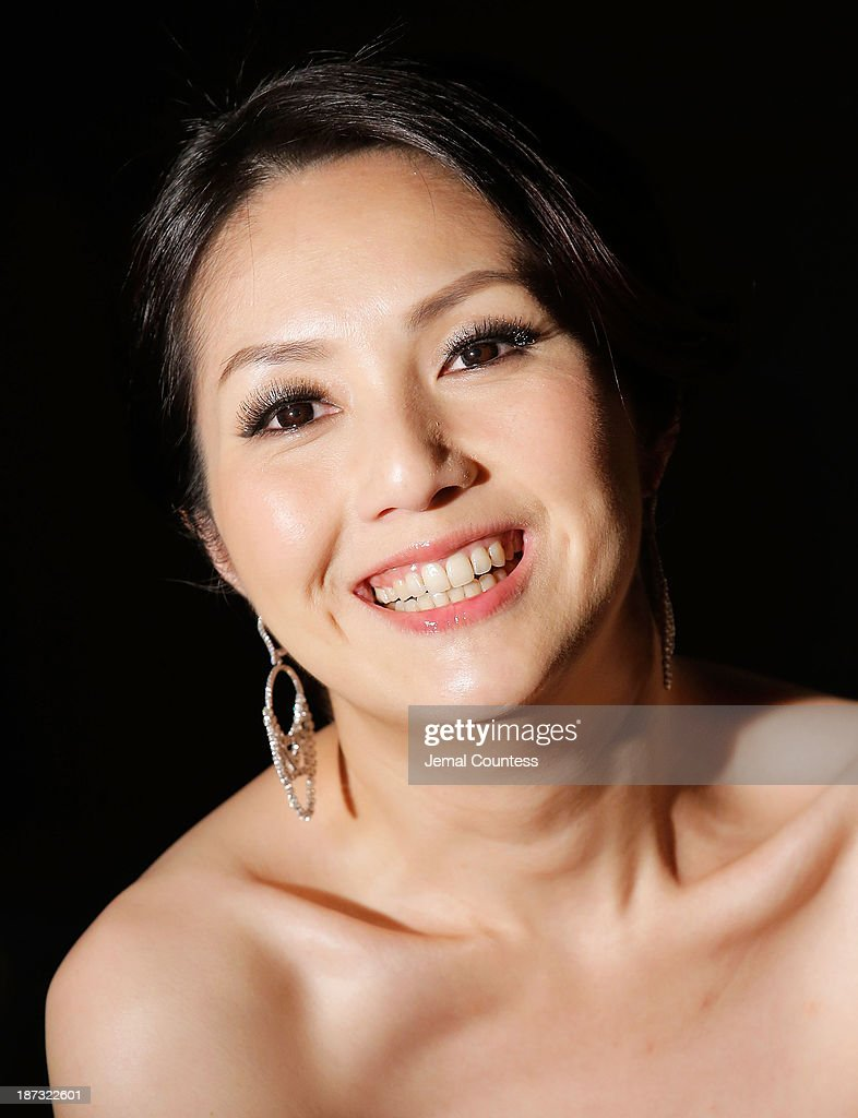Actress Miriam Yeung speaks to the media at the 4th New York Chinese Film Festival Closing Night Gala at Capitale on November 7, 2013 in New York City.
