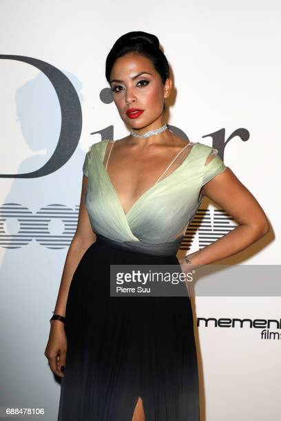 Actress Mirtha Michelle attends the 'Good Time' after party at Club Albane during the 70th annual Cannes Film Festival at Club Albane on May 25 2017...