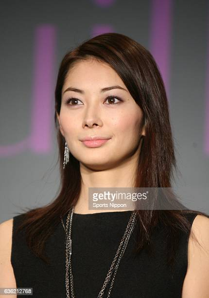 Actress Misaki Ito attends promotional event of Shiseido MAQuillAGE on November 20 2007 in Tokyo Japan