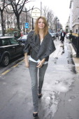 Actress Mischa Barton arrives at the 'Plaza Athenee' hotel on February 28 2007 in Paris France