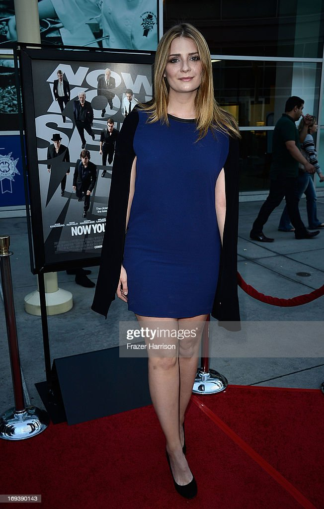 Actress Mischa Barton arrives at the Screening Of Summit Entertainment's 'Now You See Me' at ArcLight Hollywood on May 23, 2013 in Hollywood, California.