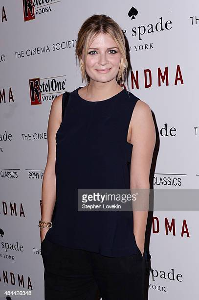 Actress Mischa Barton attends a screening of Sony Pictures Classics' 'Grandma' hosted by The Cinema Society and Kate Spade at Landmark Sunshine...