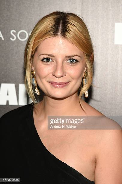 Actress Mischa Barton attends IFC's 'The D Train' New York premiere hosted by The Cinema Society and Banana Boat at Sunshine Landmark Cinema on May 6...