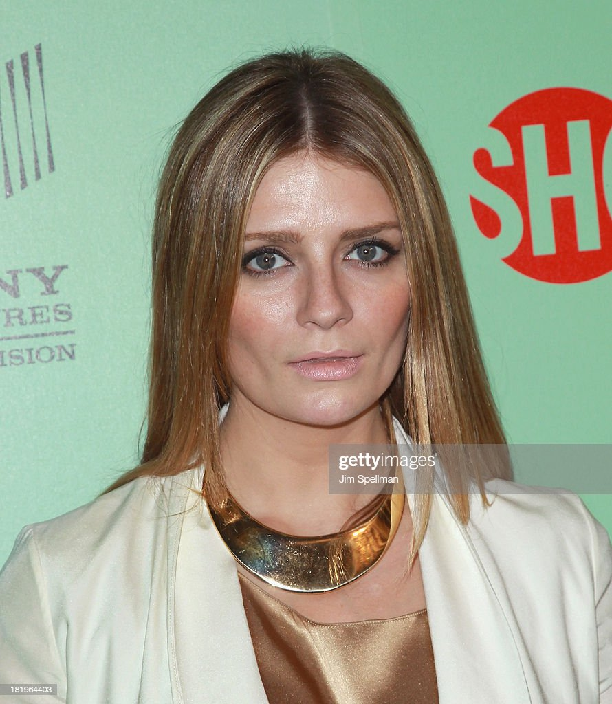Actress <a gi-track='captionPersonalityLinkClicked' href=/galleries/search?phrase=Mischa+Barton&family=editorial&specificpeople=201862 ng-click='$event.stopPropagation()'>Mischa Barton</a> attends 'Masters Of Sex' New York Series Premiere at The Morgan Library & Museum on September 26, 2013 in New York City.
