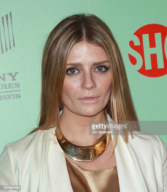Actress Mischa Barton attends 'Masters Of Sex' New York Series Premiere at The Morgan Library Museum on September 26 2013 in New York City