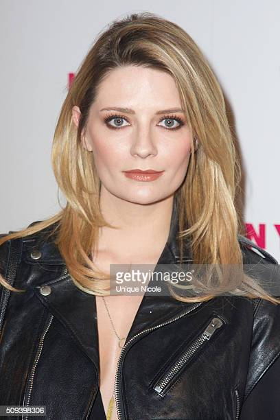 Actress Mischa Barton attends NYLON Magazine's Muses And Music Party at No Vacancy on February 9 2016 in Los Angeles California
