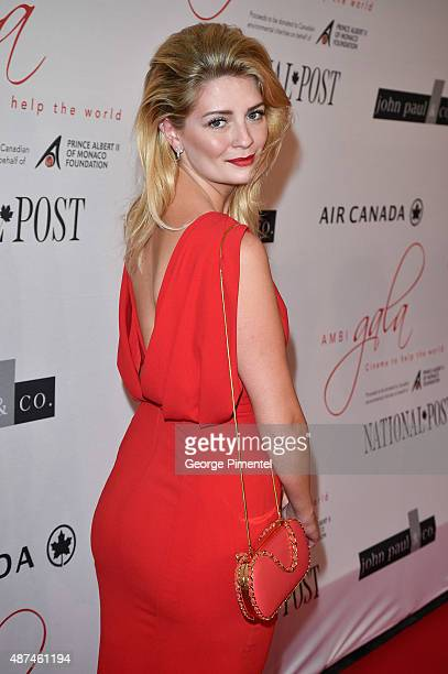 Actress Mischa Barton attends the 2015 Toronto International Film Festival 'AMBI Gala' at the Four Seasons Hotel on September 9th 2015 in Toronto...