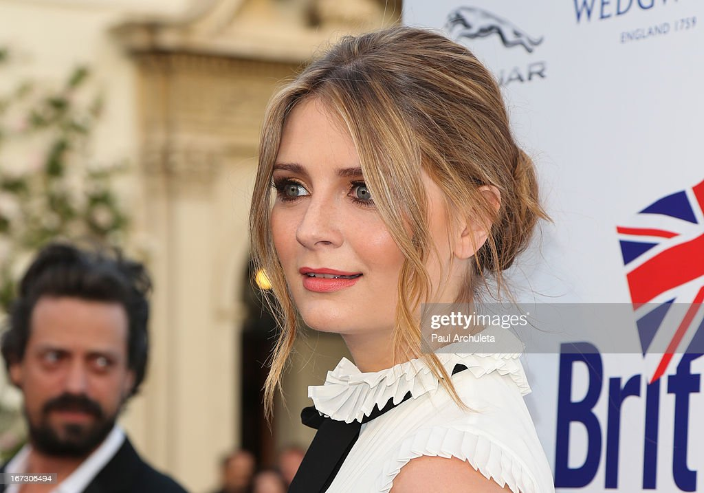 Actress Mischa Barton attends the 7th annual BritWeek Festival 'A Salute To Old Hollywood' launch party at the British Consul General's Residence on April 23, 2013 in Los Angeles, California.