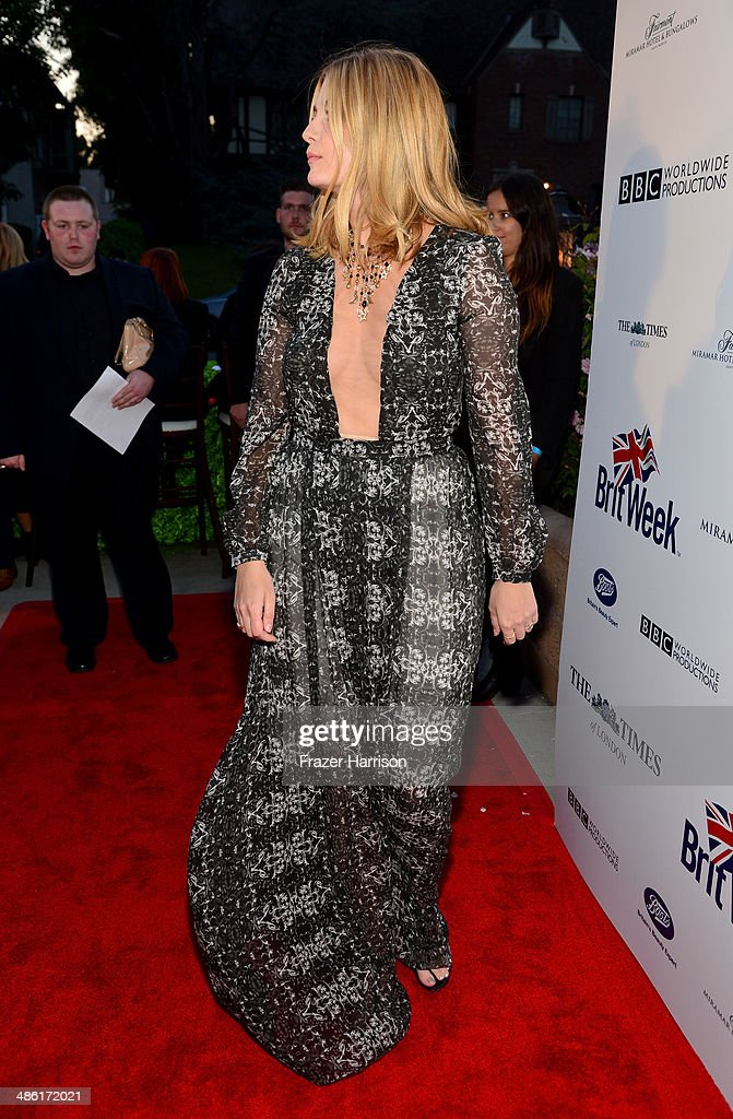 Actress Mischa Barton attends the 8th Annual BritWeek Launch Party at a private residence on April 22, 2014 in Los Angeles, California.