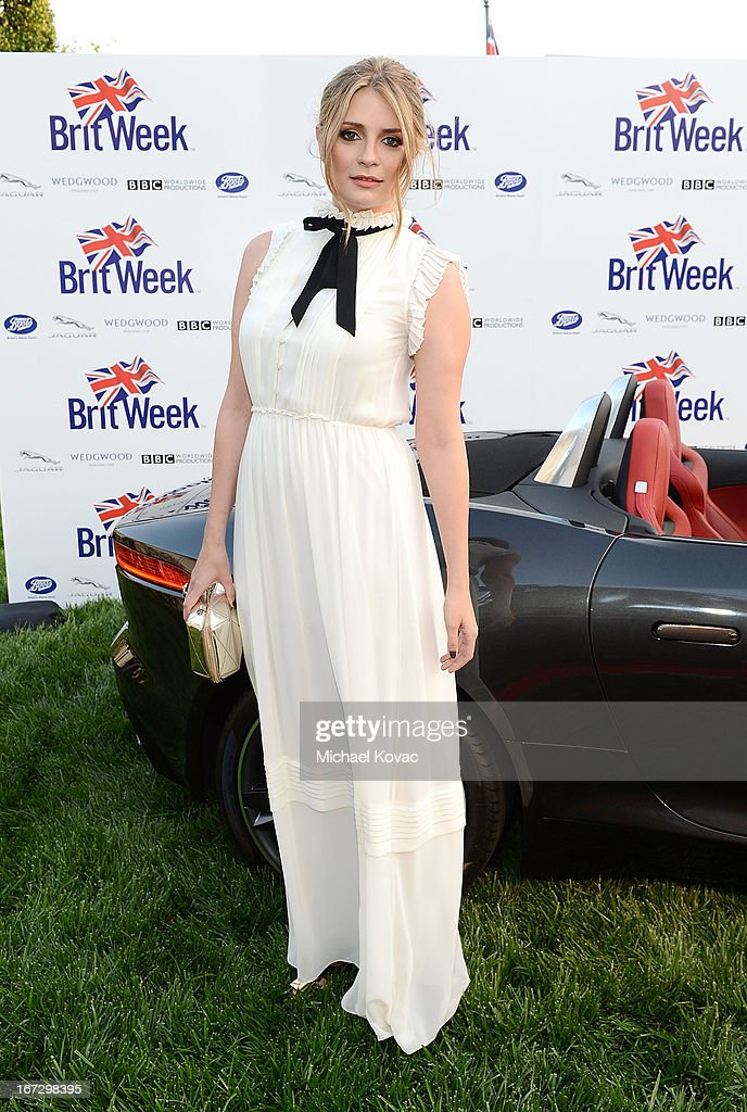 Actress Mischa Barton attends the BritWeek Los Angeles red carpet launch party with official vehicle sponsor Jaguar on April 23, 2013 in Los Angeles, California.