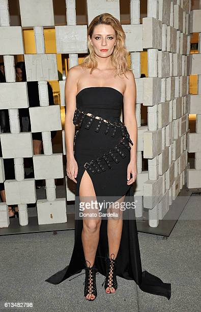 Actress Mischa Barton attends the Hammer Museum 14th Annual Gala In The Garden with generous support from Bottega Veneta at Hammer Museum on October...