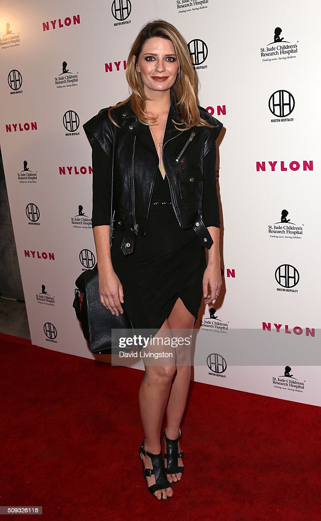 Actress <a gi-track='captionPersonalityLinkClicked' href=/galleries/search?phrase=Mischa+Barton&family=editorial&specificpeople=201862 ng-click='$event.stopPropagation()'>Mischa Barton</a> attends the Muses and Music party hosted by NYLON Magazine at No Vacancy on February 9, 2016 in Los Angeles, California.