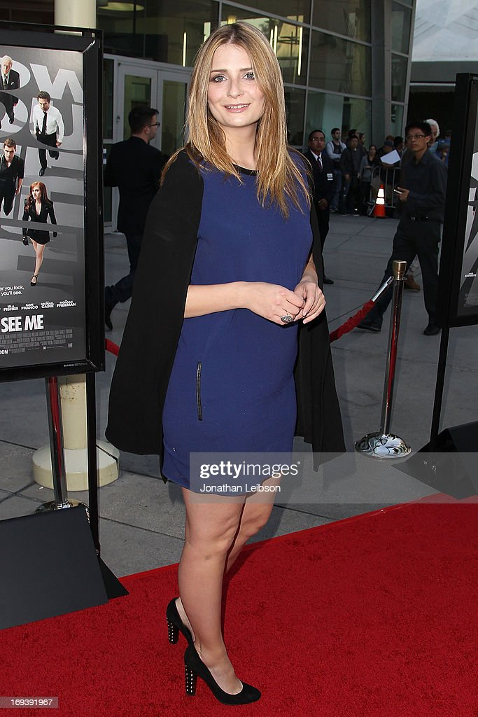 Actress Mischa Barton attends the 'Now You See Me' - Los Angeles Special Screening at ArcLight Hollywood on May 23, 2013 in Hollywood, California.