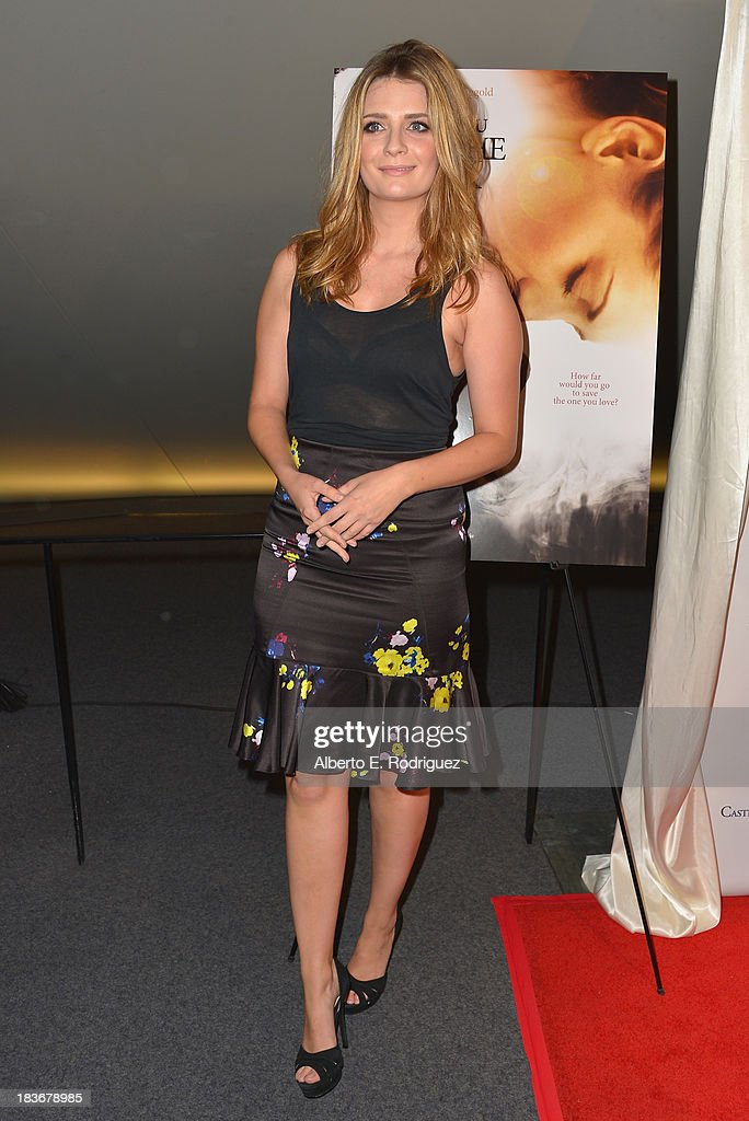 Actress Mischa Barton attends the premiere of Epic Pictures' 'I Will Follow You Into The Dark' at the Landmark Theater on October 8, 2013 in Los Angeles, California.