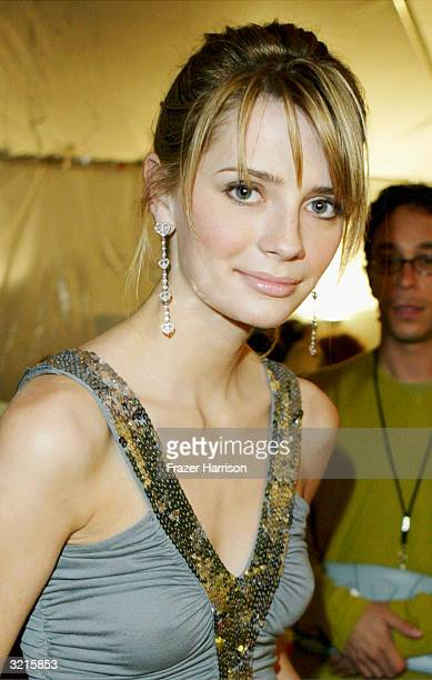 Actress Mischa Barton is seen at the Distinctive Assets lounge for Nickelodeon's Kids' Choice Awards on April 3 2004 in Westwood California