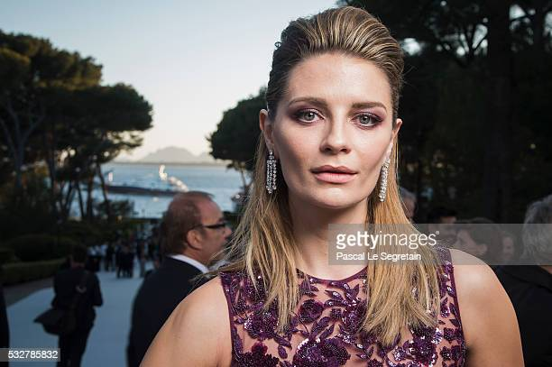 Actress Mischa Barton poses for photographs at the amfAR's 23rd Cinema Against AIDS Gala at Hotel du CapEdenRoc on May 19 2016 in Cap d'Antibes France