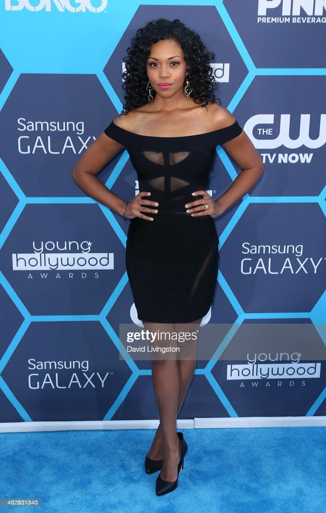Actress Mishael Morgan attends the 16th Annual Young Hollywood Awards at The Wiltern on July 27, 2014 in Los Angeles, California.