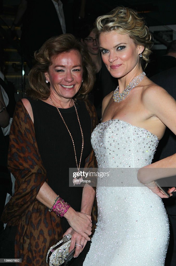 Actress <a gi-track='captionPersonalityLinkClicked' href=/galleries/search?phrase=Missi+Pyle&family=editorial&specificpeople=226554 ng-click='$event.stopPropagation()'>Missi Pyle</a> and Chopard Co-President and Artistic Director Caroline Scheufele attends The Weinstein Company Celebrates The 2012 Academy Awards Presented By Chopard held at Soho House on February 25, 2012 in West Hollywood, California.