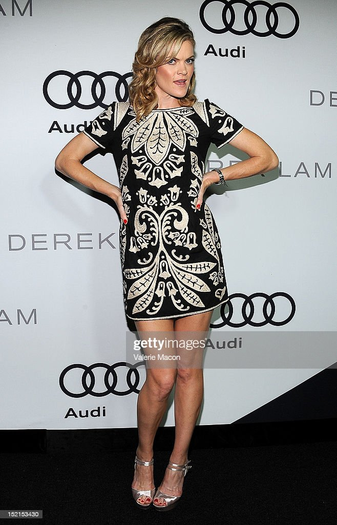 Actress Missi Pyle arrives at Audi And Derek Lam Kick Off Emmy Week 2012 party at Cecconi's Restaurant on September 16, 2012 in Los Angeles, California.