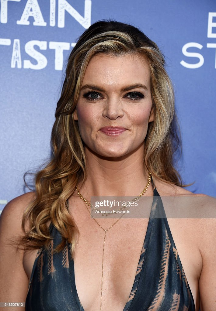 Actress <a gi-track='captionPersonalityLinkClicked' href=/galleries/search?phrase=Missi+Pyle&family=editorial&specificpeople=226554 ng-click='$event.stopPropagation()'>Missi Pyle</a> arrives at the premiere of Bleecker Street Media's 'Captain Fantastic' at Harmony Gold on June 28, 2016 in Los Angeles, California.