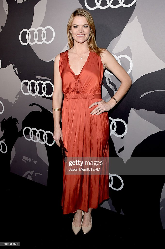 Actress Missi Pyle attends Audi celebrates Golden Globes Week 2015 at Cecconi's Restaurant on January 8 2015 in Los Angeles California