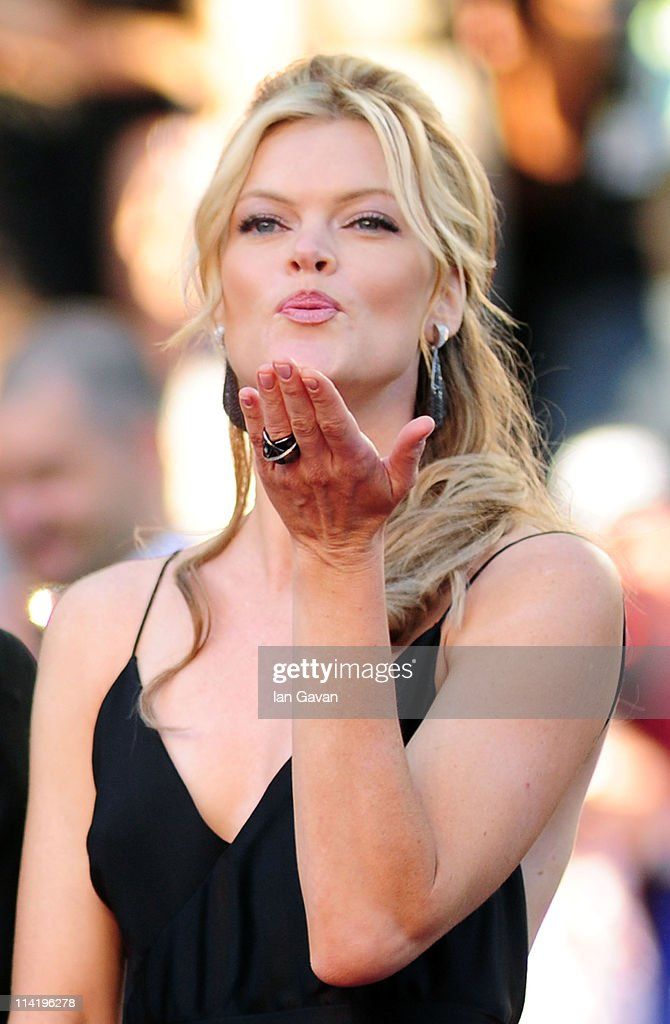 Actress <a gi-track='captionPersonalityLinkClicked' href=/galleries/search?phrase=Missi+Pyle&family=editorial&specificpeople=226554 ng-click='$event.stopPropagation()'>Missi Pyle</a> attends 'The Artist' premiere at the Palais des Festivals during the 64th Annual Cannes Film Festival on May 15, 2011 in Cannes, France.