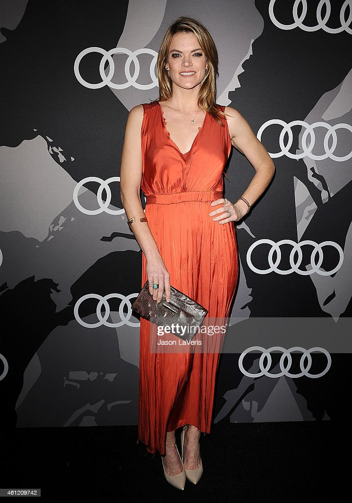 Actress Missi Pyle attends the Audi Golden Globe week celebration at Cecconi's Restaurant on January 8 2015 in Los Angeles California
