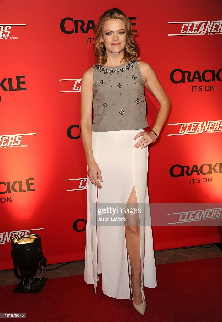 Actress Missi Pyle attends the 'Cleaners' digital series premiere at Cary Grant Theater on September 26 2013 in Culver City California