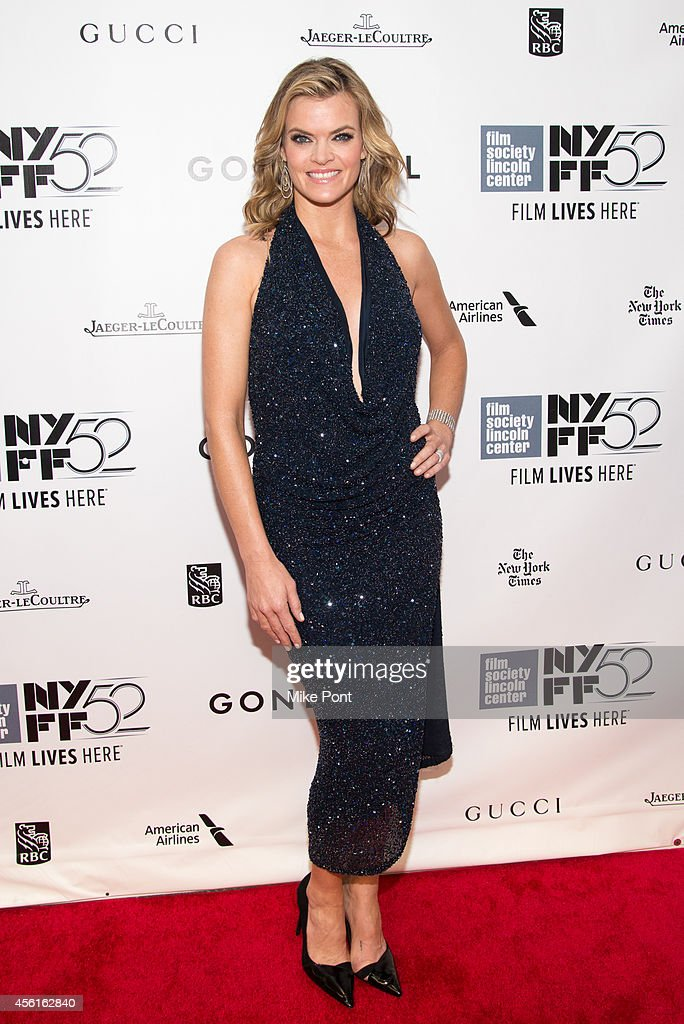 Actress Missi Pyle attends the Opening Night Gala Presentation And World Premiere Of 'Gone Girl' 52nd New York Film Festival at Alice Tully Hall on...